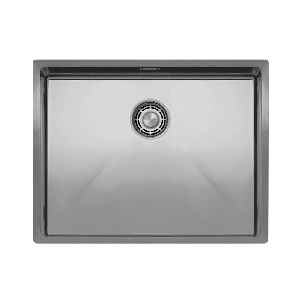 Нержавіюча Сталь Кухня Басейн - Nivito CU-550-B Brushed Steel Strainer ∕ Waste Kit Color