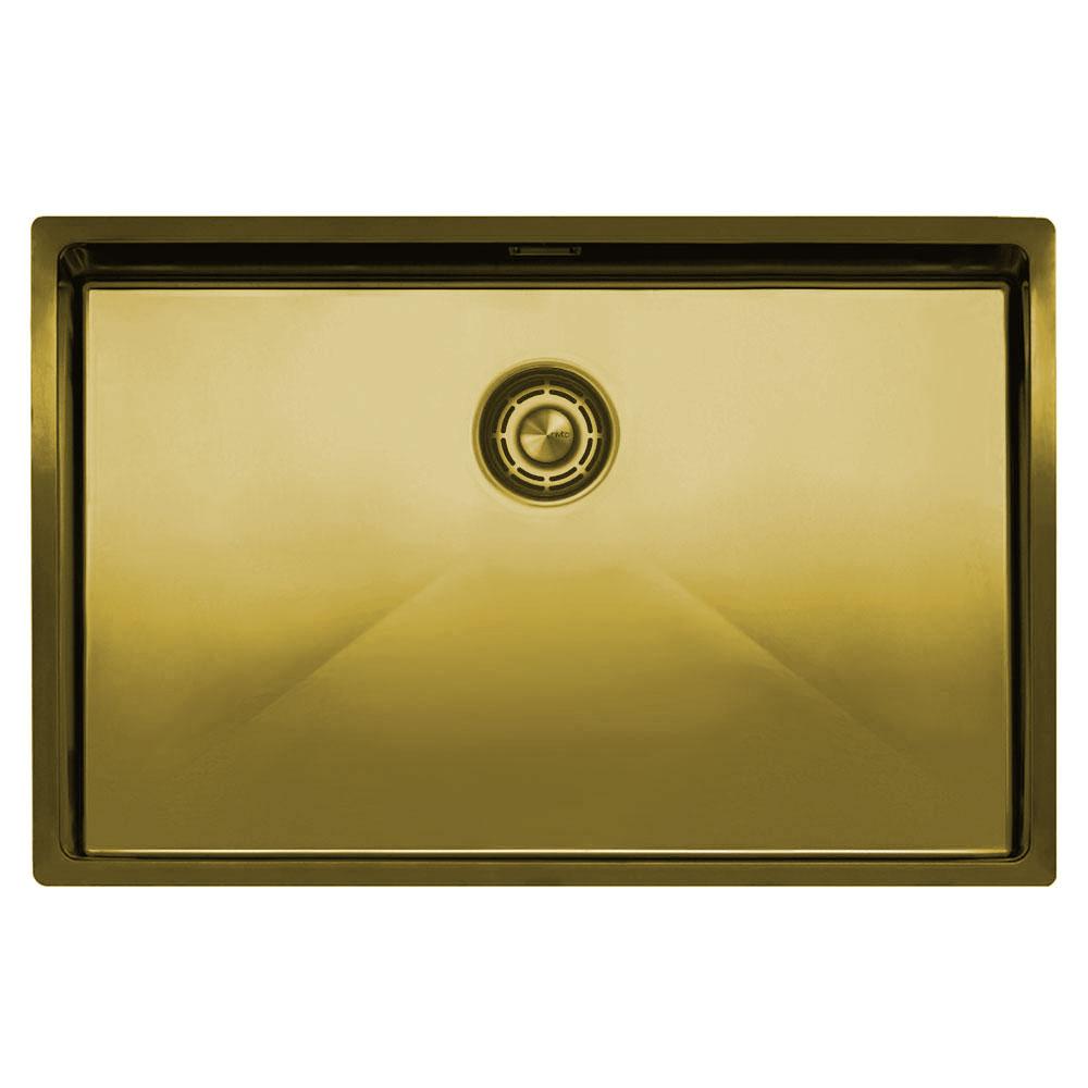 Золотий/Латунний Кухня Басейн - Nivito CU-700-BB