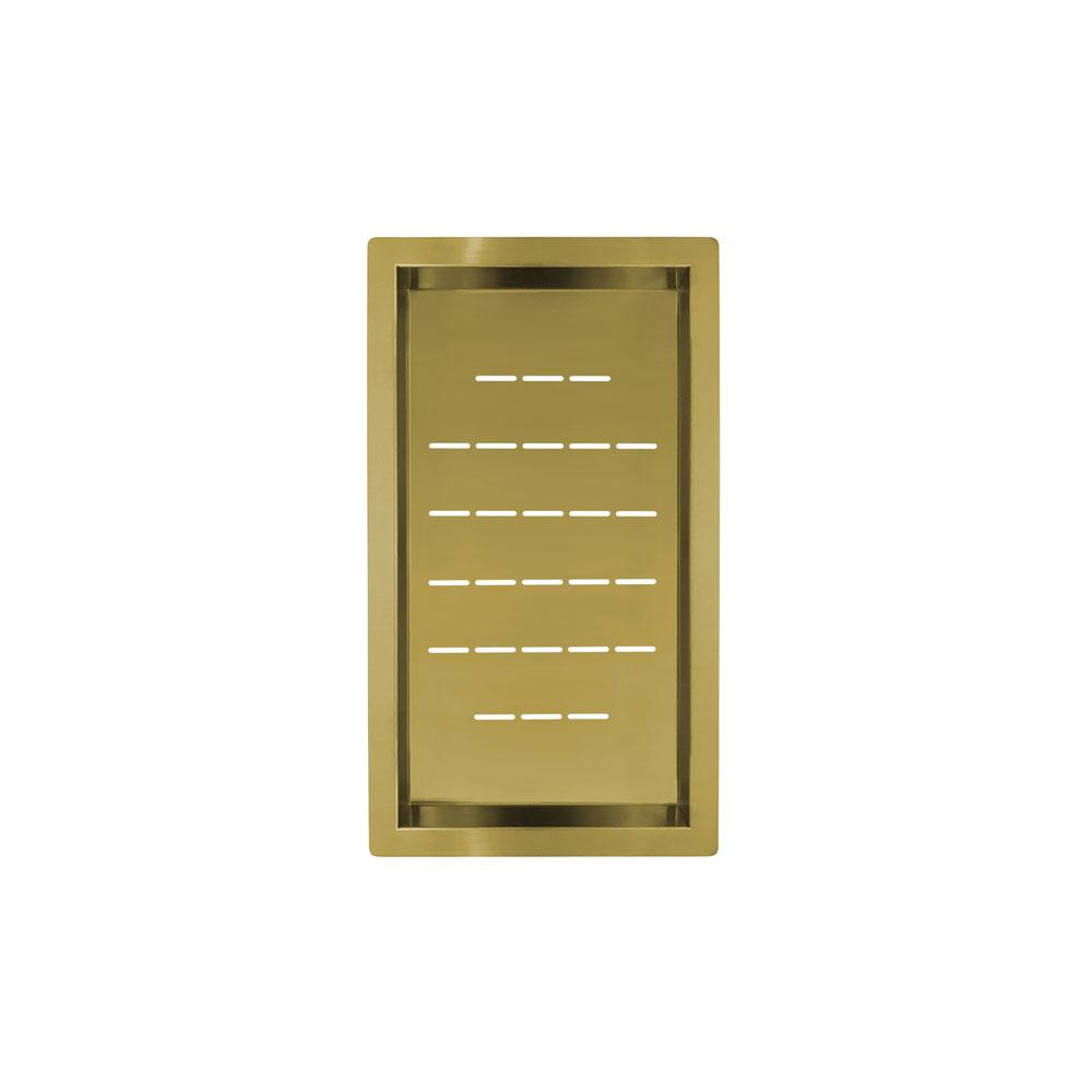 Золотий/Латунний Чаша Для Ситечка - Nivito CU-WB-240-BB