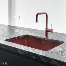 Мідь Кухня Мийка - Nivito 1-CU-500-BC