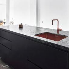 Мідь Кухня Мийка - Nivito 2-CU-500-BC