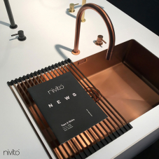 Мідь Кухня Мийка - Nivito 1-CU-700-BC