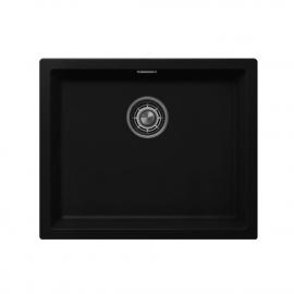 Чорний Кухня Басейн - Nivito CU-500-GR-BL