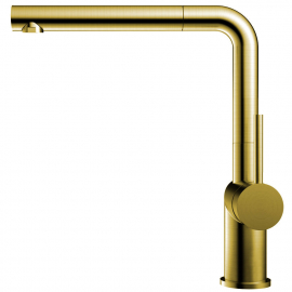 Золотий/Латунний Кухня Кран Випускний шланг - Nivito RH-640-EX